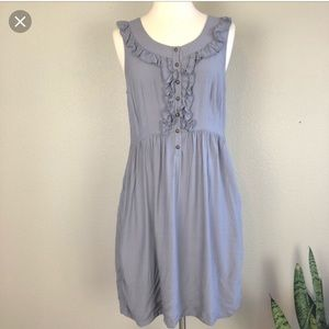 Anthropologie Maeve dress in grey. GUC and size XS